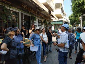 רוני אהרוני-סיור ברחובות תל אביב